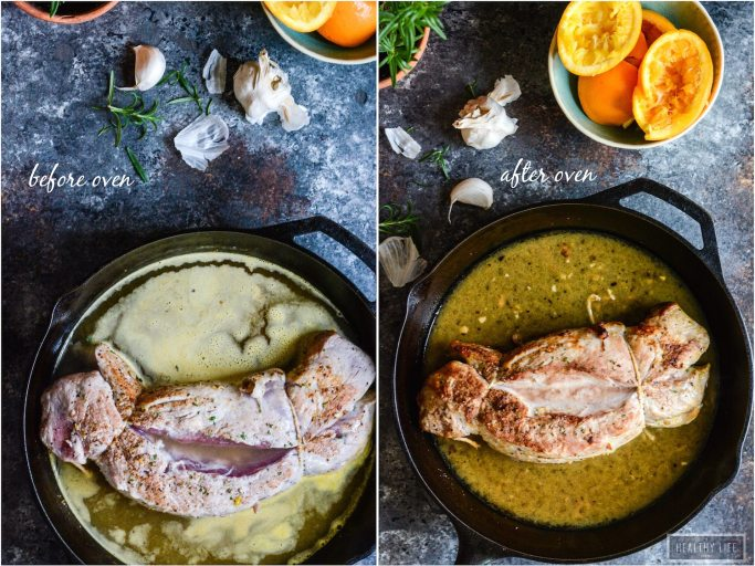 Orange Rosemary Roasted Pork Tenderloin is a delicious, simple, one-pan dinner that is made with limited ingredients and is paleo friendly and whole30  ahealthylifeforme.com