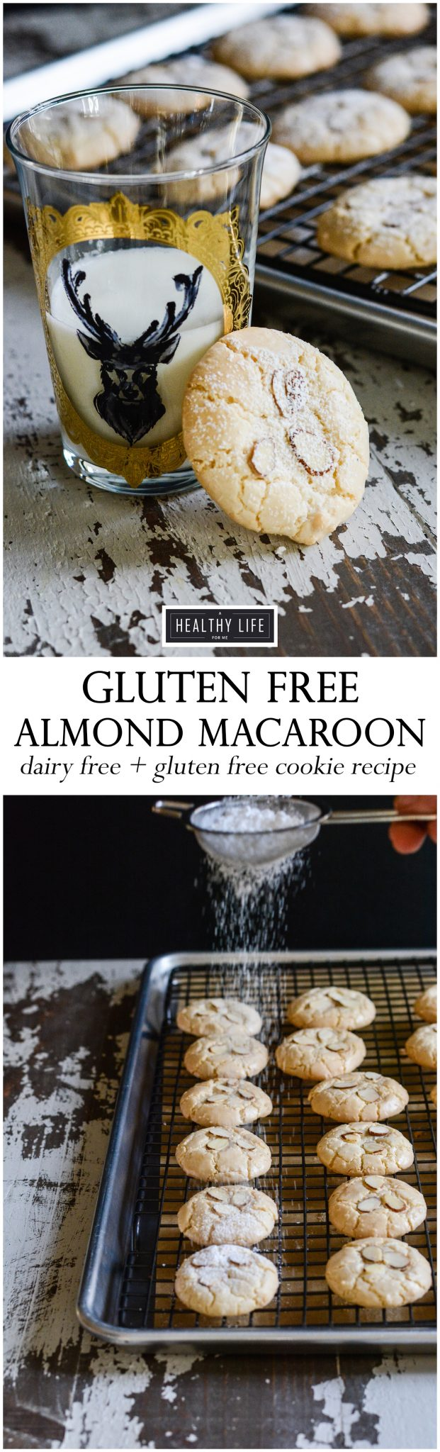 Perfect gluten free almond macaroon recipe | ahealthylifeforme.com