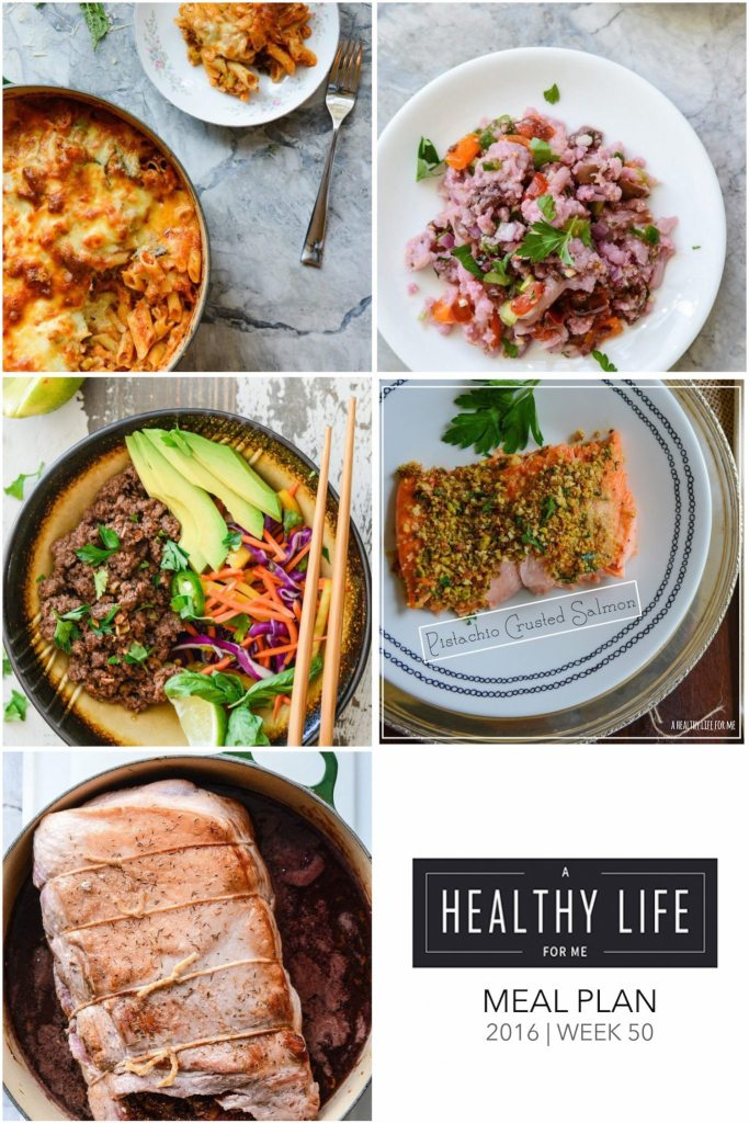 Healthy Meal Plan for the whole family | ahealthylifeforme.com
