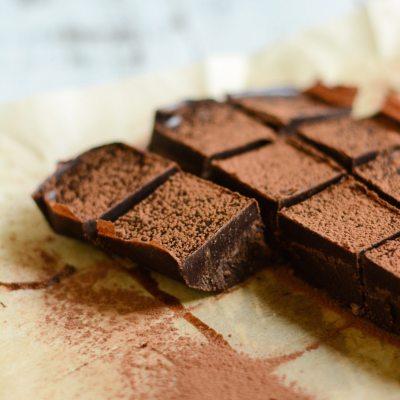 Chocolate Peppermint Truffle Bars {gluten free + vegan}