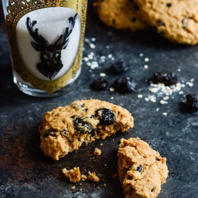 Superfood Peanut Butter Protein Breakfast Cookies
