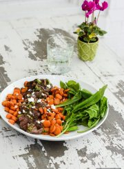 Delicious easy to prepare healthy weeknight dinner | ahealthylifeforme.com