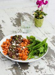 Delicious easy to prepare healthy weeknight dinner | ahealthylifeforme.com