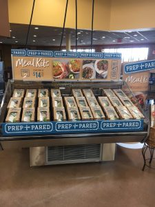 prep + pared meal kits at kroger