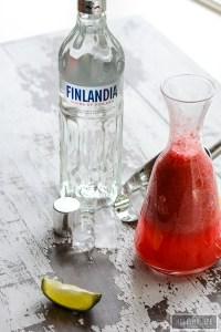 Watermelon Vodka Cooler Recipe | ahealthylifeforme.com