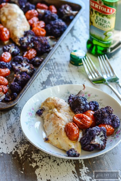 Sheet Pan Chicken Cauliflower