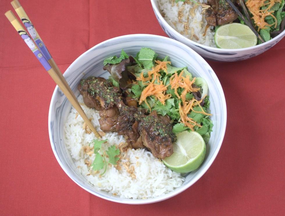 Muu Waan Thai sweet pork