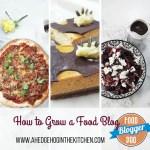 How to grow a food blog