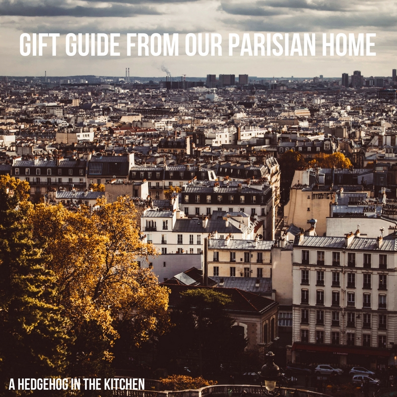 Gift Guide from Our Parisian Home. | ahedgehoginthekitchen.com