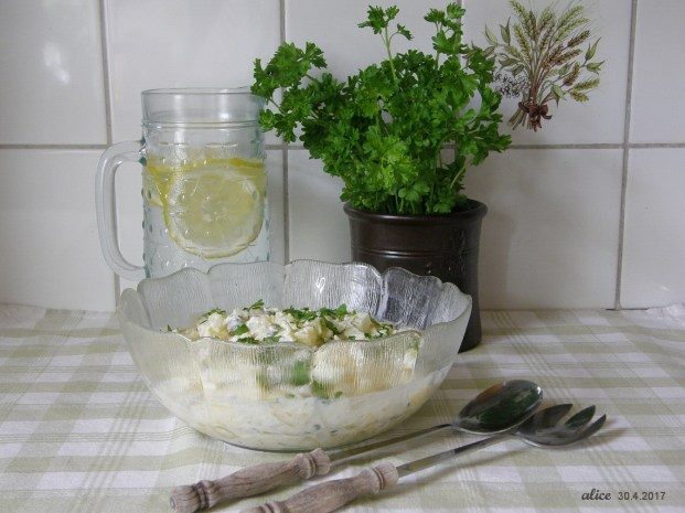 Homemade potato salad