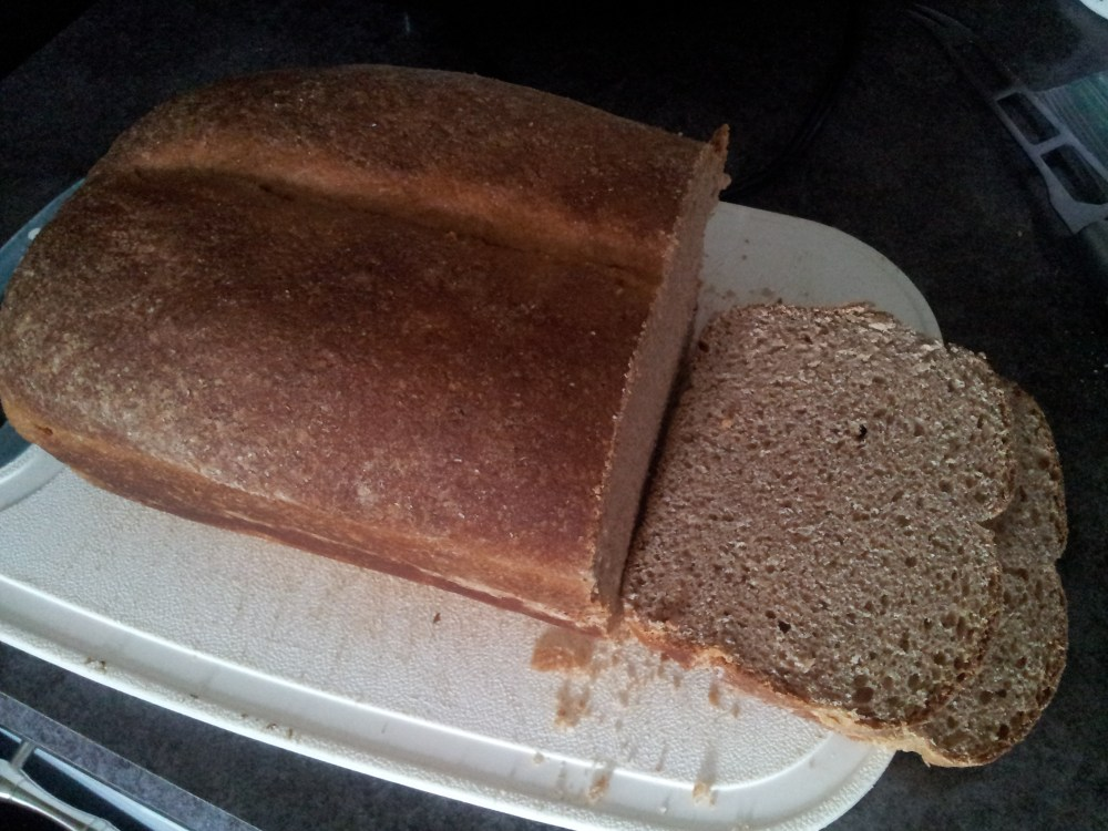Soft Sandwich Sourdough Bread Recipe | A Helping of Hope (1/4)
