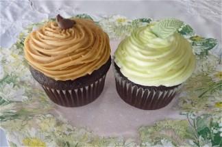 Baileys Cupcake & Mint Cupcake