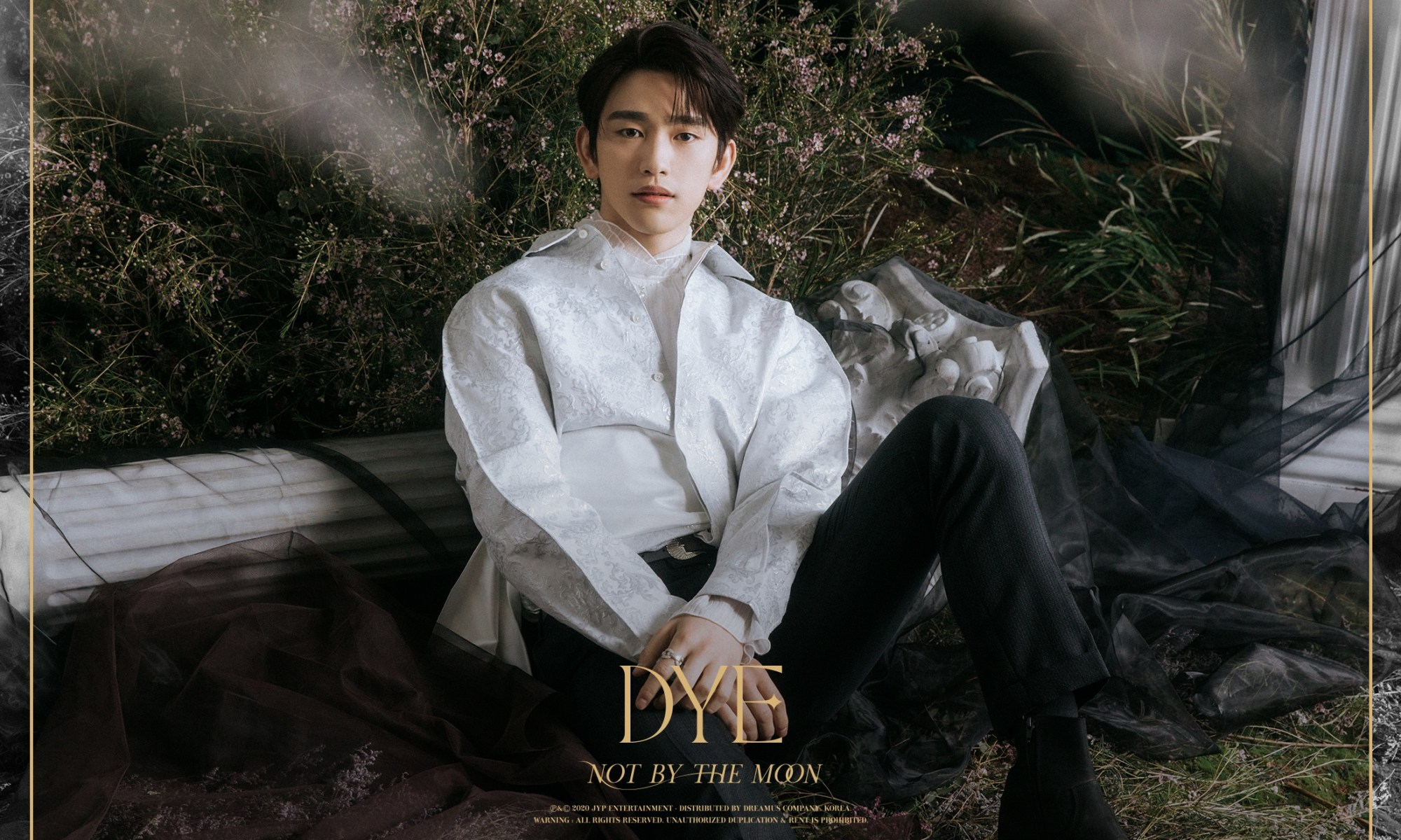Jinyoung in the 3rd teaser image for DYE