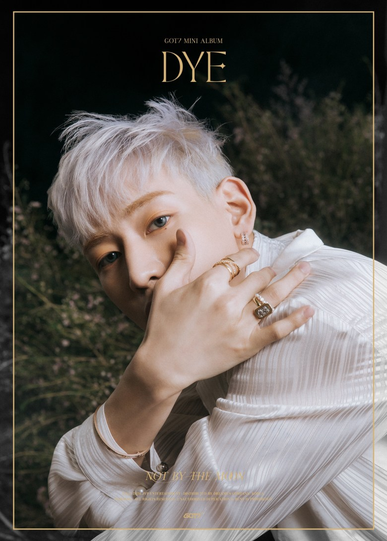Bambam in the 3rd teaser image for DYE