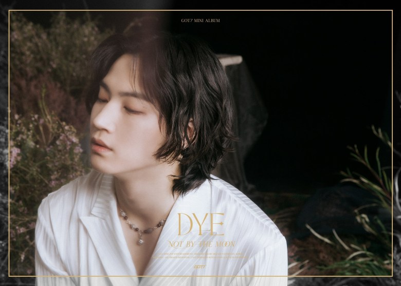 JB in the 3rd teaser image for DYE