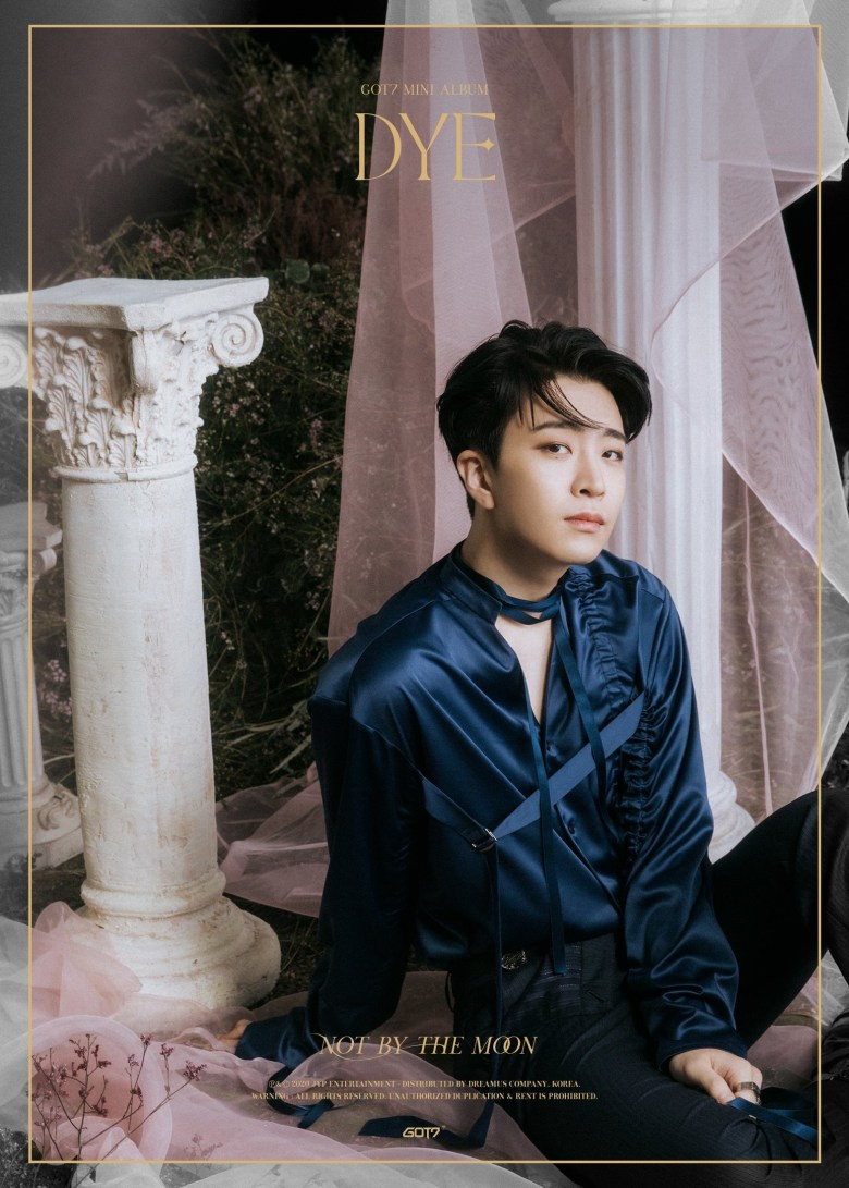 Youngjae in the 3rd teaser image for DYE
