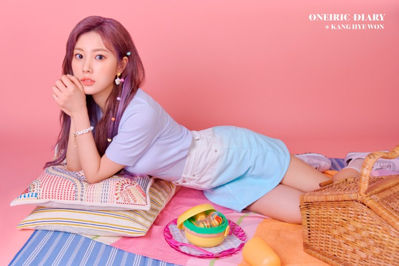 Kang Hye Won from IZONE for Oneiric Diary comeback