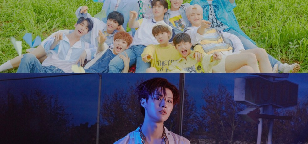 X1 members show support for Seungyoun (WOODZ) solo release