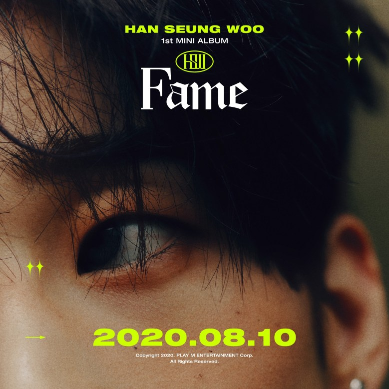 Han Seung Woo's first solo album - HAN concept images