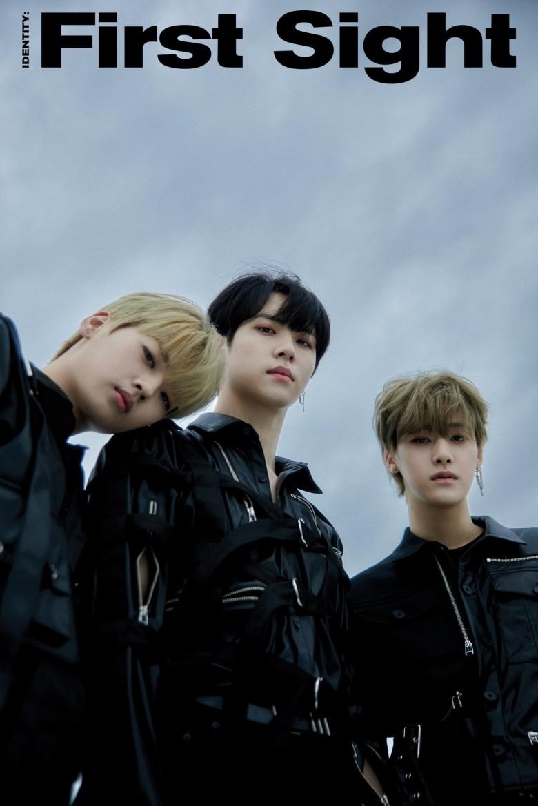 WEi First Album first teaser image. Kang Seok Hwa, Kim Dong Han, Yoo Youngha.