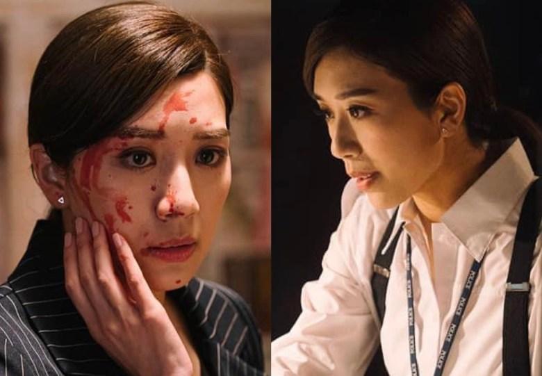 Still cuts in Line Walker 3, Mandy Wong.