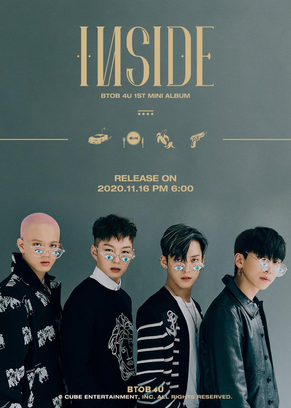 BTOB 4U 1st Mini Album Image Teaser