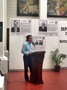 Inauguración Exposición Constituyentes Sinaloenses Querétaro 1917 en Navolato