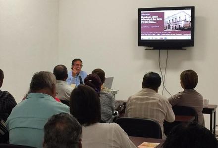 """Conferencia """"Historia del Mesón de San Carlos"""""""