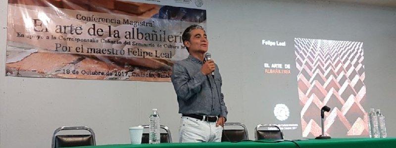 """Conferencia """"El Arte de la Albañilería"""""""