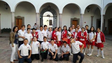 Nos Visitan Alumnos Colegio Independencia de Culiacán
