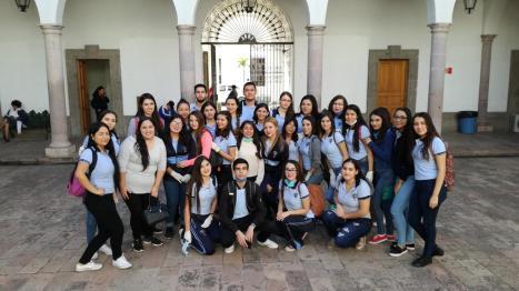 Visita de Alumnos de la Escuela Normal de Sinaloa al Archivo