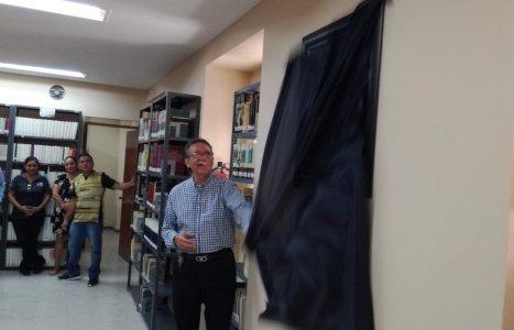 """Reinauguración Biblioteca """"Carlos Manuel Aguirre"""""""