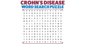 CROHN'S DISEASE - Word Search Puzzle