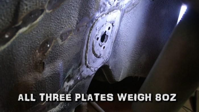 Stronger Anti-Roll Bar Plates Porsche