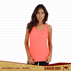 Racerback Tank Orange #ABARTORANGE