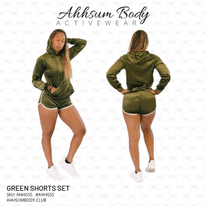 Green Shorts Set - AHHGSS