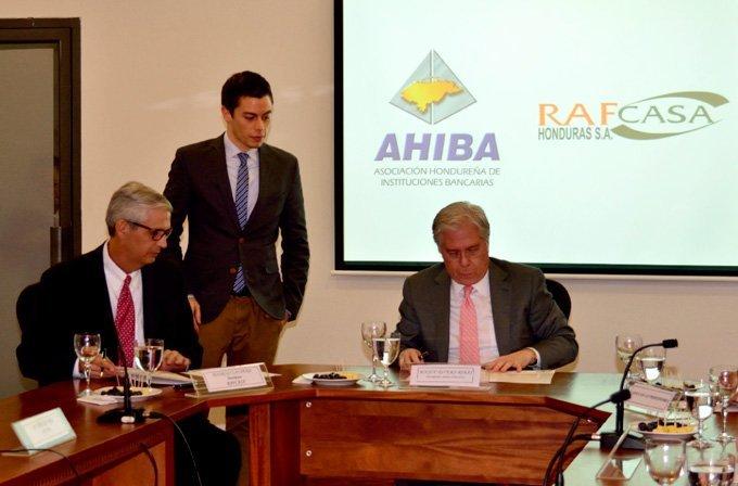 Firma De Convenio Marco De Alianza AHIBA – RAFCASA Honduras
