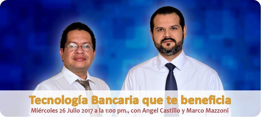 """Webinar """"Tecnología Bancaria Que Te Beneficia"""""""
