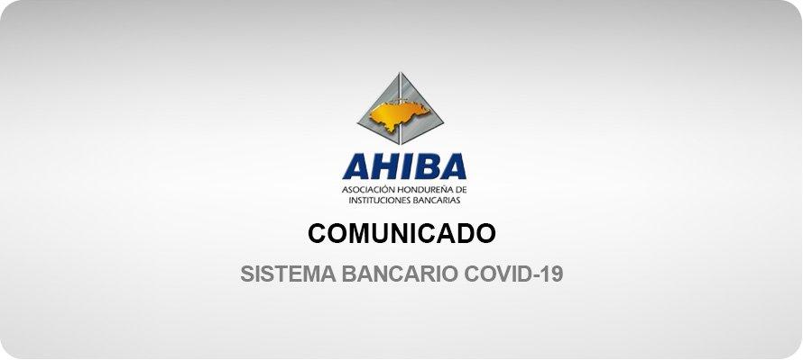 Comunicado Sistema Bancario COVID-19