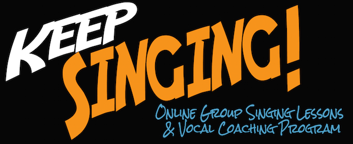 Register today for Keep Singing! Group Online Singing Lessons & Vocal Coaching Program