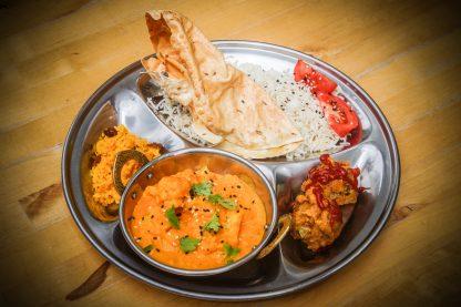 Thali - indyjski lunch