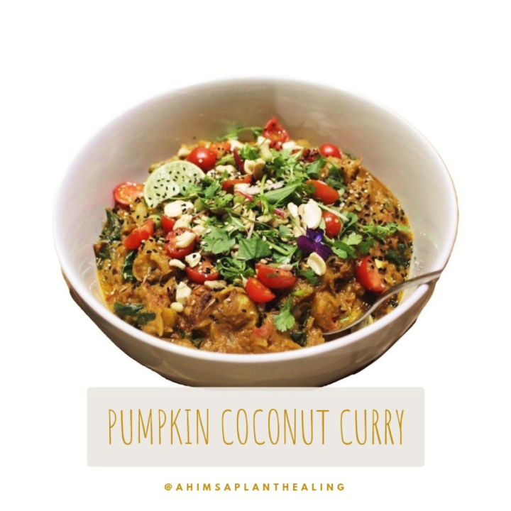 Pumpkin Coconut Curry 3