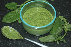 Basil and Spinach Pesto Finished 2