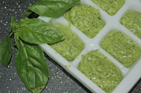 Basil and Spinach Pesto Freeze for Later 2