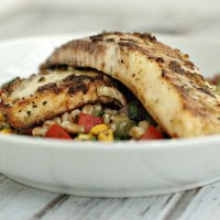 Habanero & Green Pepper Crusted Tilapia