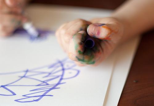 the hand of an artist...