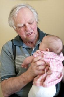 Grandpapa Normand and Wilhelmina