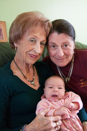 My daughter, my mom and my grandma
