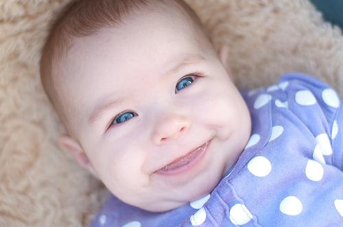 My bright eyed girl...
