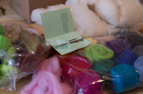 Order cam today... Felting things
